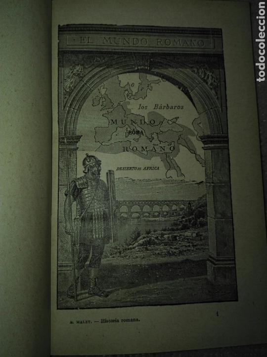 Libros antiguos: A. Malet. Circa 1920. 4 libros: historia oriente. Historia grecia. Historia roma. Edad media. - Foto 5 - 169840496