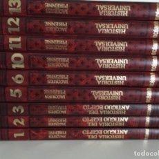 Libros antiguos: HISTORIA UNIVERSAL- 9 TOMOS, EDITORIAL OCÉANO . Lote 171131972