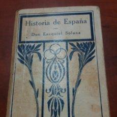 Libros antiguos: LIBRO COLEGIO ANTIGUO HISTORIA DE ESPAÑA 192. Lote 171142520