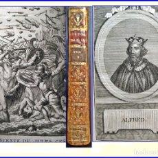 Libros antiguos: AÑO 1771: HISTORIA DE INGLATERRA. LIBRO DEL SIGLO XVIII.. Lote 171143450
