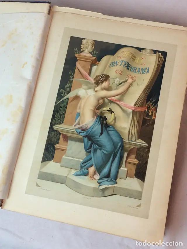 Libros antiguos: Historia Contemporánea. Cantú - Foto 3 - 171218690