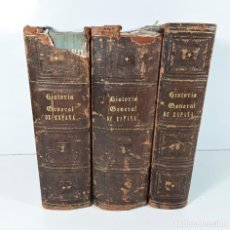 Libros antiguos: HISTORIA GENERAL DE ESPAÑA. 3 TOMOS. EDIT. M. RODRIGUEZ. MADRID. 1867/69.. Lote 171315103