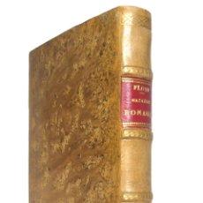 Libros antiguos: 1917 - LUCIO ANNEO FLORO: COMPENDIO DE LAS HAZAÑAS ROMANAS - HISTORIA ANTIGUA, ROMA - PLENA PIEL. Lote 171368914