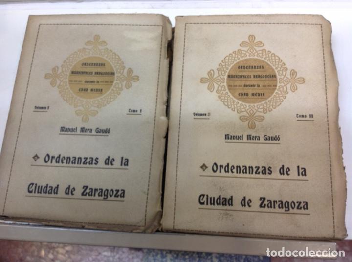 ORDENANZAS DE LA CIUDAD DE ZARAGOZA (Libros antiguos (hasta 1936), raros y curiosos - Historia Antigua)