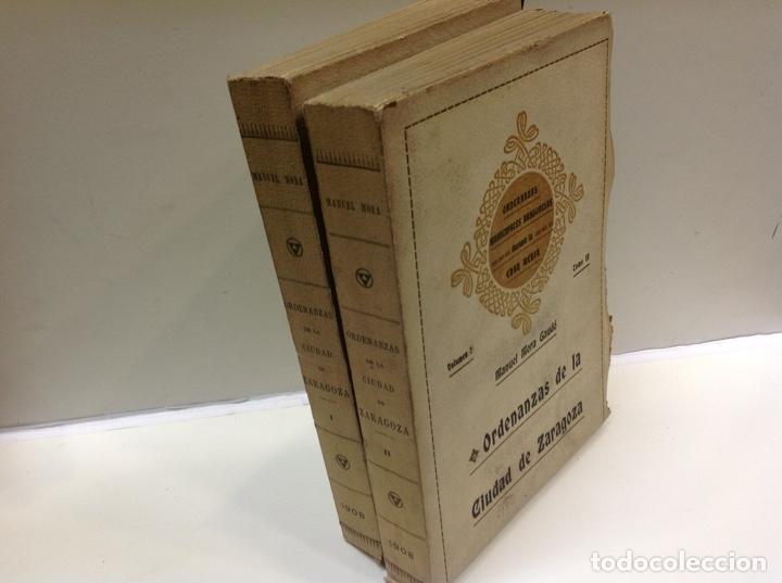 Libros antiguos: ORDENANZAS DE LA CIUDAD DE ZARAGOZA - Foto 5 - 171702349