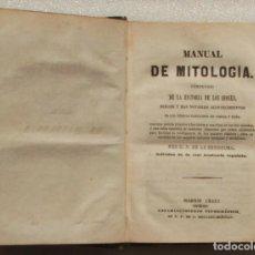 Libros antiguos: MANUAL DE MITOLOGIA. MADRID 1845. Lote 171812970