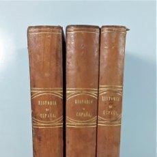 Libros antiguos: HISTORIA GENERAL DE ESPAÑA. 3 TOMOS. PADRE MARIANA. IMP. GASPAR Y ROIG. 1852/53.. Lote 172298085