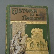 Libros antiguos: HISTORIA DE LAS NACIONES - LOS GODOS - BRADLEY - 1890. Lote 172311830
