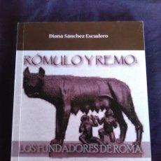 Libros antiguos: RÓMULO Y REMO: LOS FUNDADORES DE ROMA. Lote 172995244