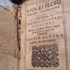 Libros antiguos: 1678.LUCII ANNAEI FLORI ROMANARUM. Lote 173200983