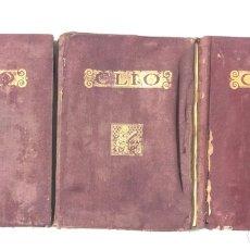 Libros antiguos: INICIACION AL ESTUDIO DE LA HISTORIA. CLIO. RAFAEL BALLESTER. 3 TOMOS. TARRAGONA, 1935. VER Y LEER.. Lote 173370437