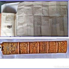 Libros antiguos: AÑO 1776: Hª DEL CRISTIANISMO. CON ENORME PÁGINA DESPLEGABLE DE LOS REYES DE EUROPA. 611 PÁGINAS.. Lote 173997108