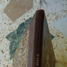 Libros antiguos: MANUEL LORENZO D´AYOT, 1893, MANUSCRITO ORIGINAL DE LA IBERIADA, TOLEDO. Lote 174006654