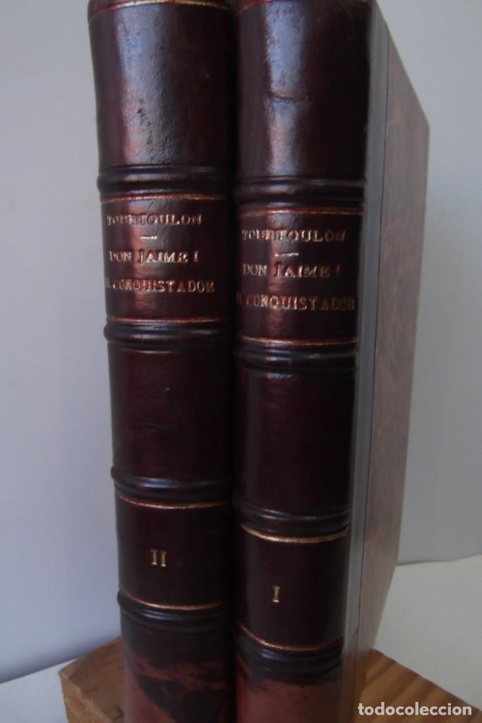 Libros antiguos: ~~ REY DON JAIME I ~~ EL CONQUISTADOR ~~ REY DE ARAGON ~~ CIRCA 1871 ~~ - Foto 6 - 175017103