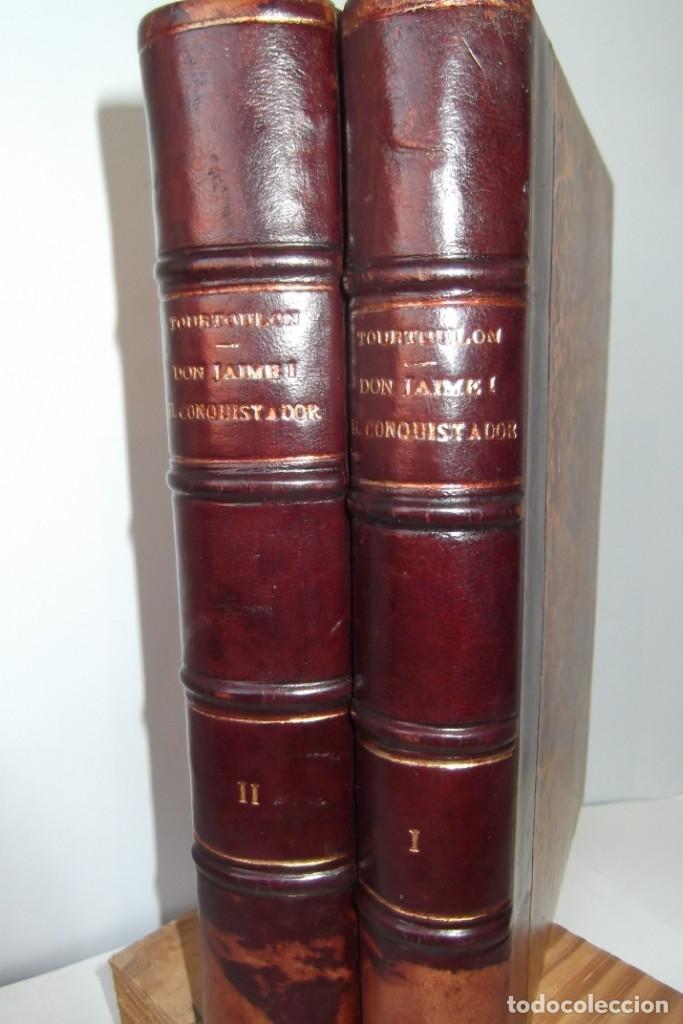 Libros antiguos: ~~ REY DON JAIME I ~~ EL CONQUISTADOR ~~ REY DE ARAGON ~~ CIRCA 1871 ~~ - Foto 8 - 175017103