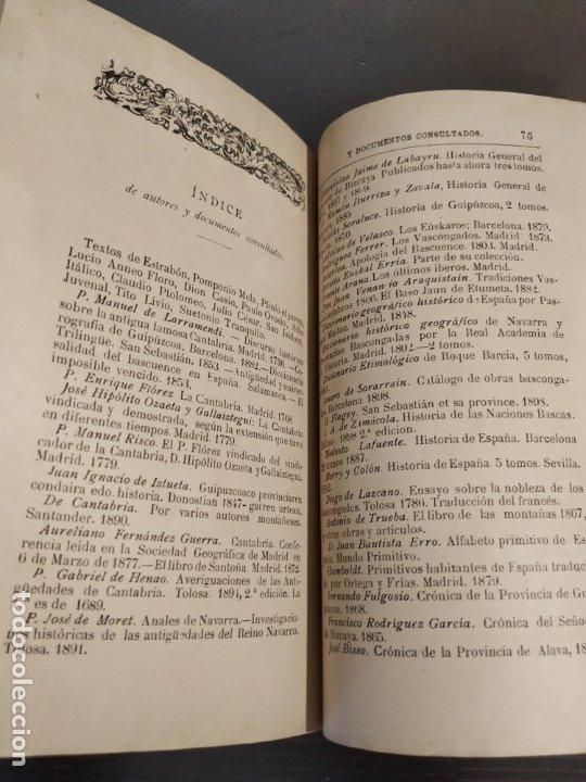 Libros antiguos: CANTABRIA Y LA GUERRA CANTÁBRICA - 1899 - LÓPEZ MENDIZÁBAL CON DEDICATORIA DEL AUTOR. - Foto 4 - 175054790