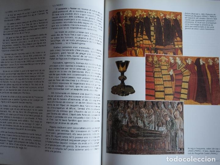 Libros antiguos: La vida quotidiana a lEdat Mitjana a través de lArt Gòtic. Maribel Pendás García - Foto 10 - 175217810