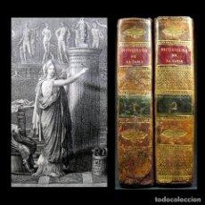 Libros antiguos: AÑO 1803 MITOLOGÍA UNIVERSAL GRABADO FRONTISPICIO 2 VOLS. DICCIONARIO DE LA FÁBULA GRECIA ROMA. Lote 175232115