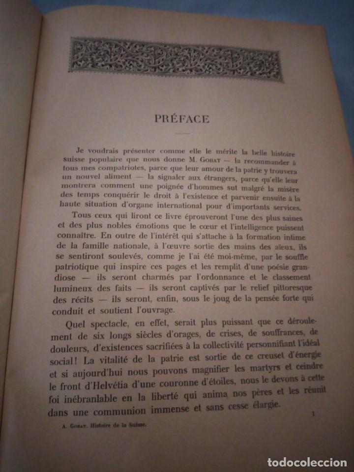 Libros antiguos: histoire de la suisse racontée au peuple par albert goban,ilustrada con hojas desplegables,1899 - Foto 9 - 175263864