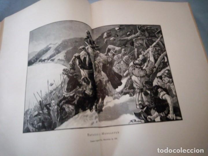 Libros antiguos: histoire de la suisse racontée au peuple par albert goban,ilustrada con hojas desplegables,1899 - Foto 12 - 175263864