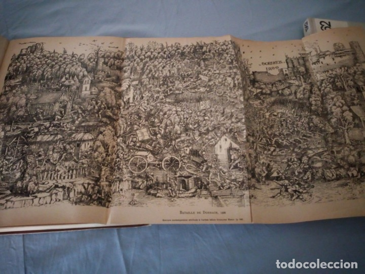 Libros antiguos: histoire de la suisse racontée au peuple par albert goban,ilustrada con hojas desplegables,1899 - Foto 17 - 175263864