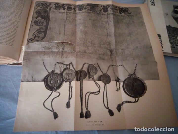 Libros antiguos: histoire de la suisse racontée au peuple par albert goban,ilustrada con hojas desplegables,1899 - Foto 18 - 175263864