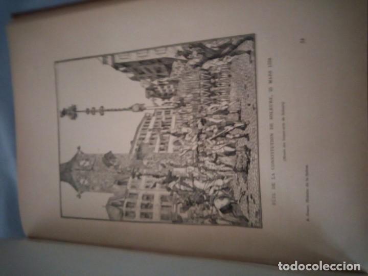 Libros antiguos: histoire de la suisse racontée au peuple par albert goban,ilustrada con hojas desplegables,1899 - Foto 20 - 175263864