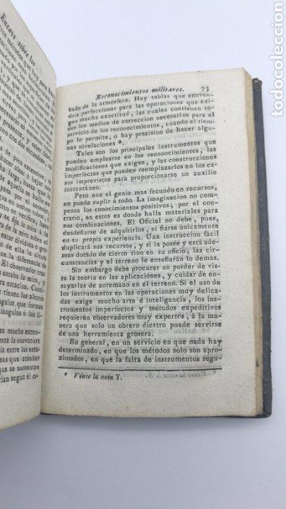 Libros antiguos: Ensayo sobre los reconocimientos militares 1829 - Foto 3 - 175229404
