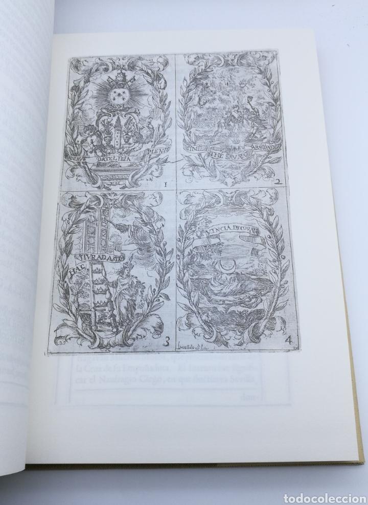 Libros antiguos: Facsímil fiestas de la iglesia Sevilla 1691 con desplegables - Foto 4 - 175415440
