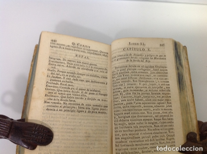 Libros antiguos: Quincti curtii rufo de rebus guests Alexandri Magni 1828 - Foto 4 - 175735758