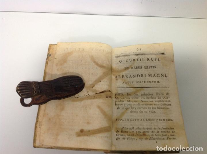 Libros antiguos: Quincti curtii rufo de rebus guests Alexandri Magni 1828 - Foto 6 - 175735758