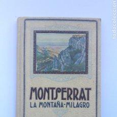 Libros antiguos: MONTSERRAT LA MONTAÑA MILAGRO 1929.. Lote 175888003