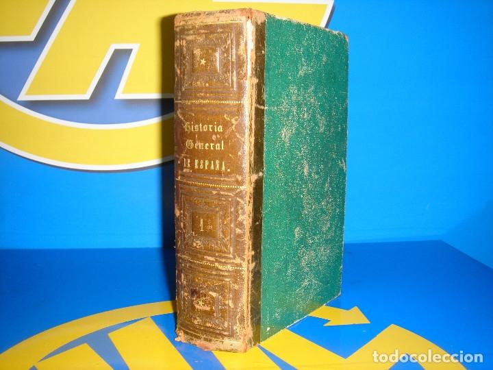 LIBRO HISTORIA GENERAL DE ESPAÑA. TOMO I- PADRE JUAN DE MARIANA -1867 (Libros antiguos (hasta 1936), raros y curiosos - Historia Antigua)