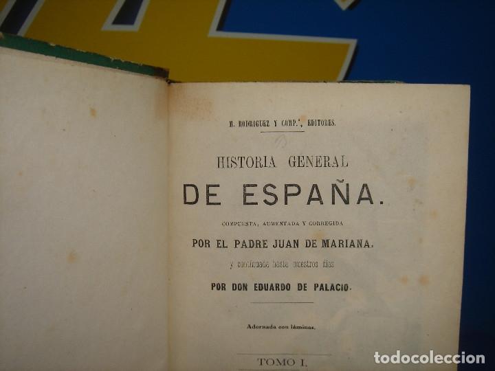Libros antiguos: LIBRO Historia general de España. Tomo I- Padre Juan de Mariana -1867 - Foto 3 - 176229690
