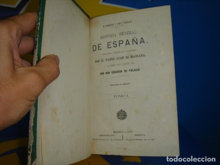 Libros antiguos: LIBRO Historia general de España. Tomo I- Padre Juan de Mariana -1867 - Foto 4 - 176229690