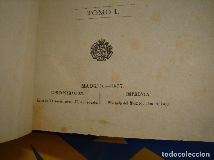 Libros antiguos: LIBRO Historia general de España. Tomo I- Padre Juan de Mariana -1867 - Foto 5 - 176229690