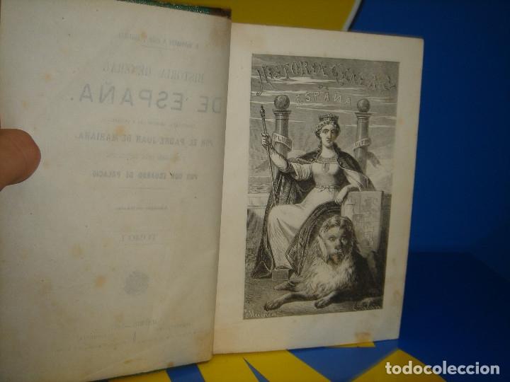 Libros antiguos: LIBRO Historia general de España. Tomo I- Padre Juan de Mariana -1867 - Foto 6 - 176229690