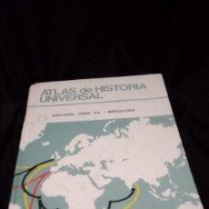 Libros antiguos: ATLAS DE HISTORIA UNIVERSAL, EDITORIAL TEIDE 1989. Lote 176405120