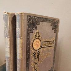 Libros antiguos: DE LA VIDA Y ACCIONES DE ALEXANDRO EL GRANDE POR QUINTO CURCIO RUFO TOMO I Y II 1887 1888 . Lote 176479873