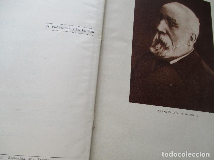 Libros antiguos: LAS GRANDES CONMOCIONES POLITICAS EN ESPAÑA, FRANCISCO PI Y MARGALL y PI Y ARSUAGA-S/F- 2 TOMOS - Foto 5 - 176913213