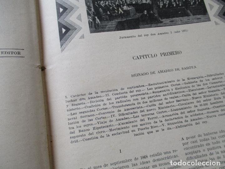 Libros antiguos: LAS GRANDES CONMOCIONES POLITICAS EN ESPAÑA, FRANCISCO PI Y MARGALL y PI Y ARSUAGA-S/F- 2 TOMOS - Foto 11 - 176913213