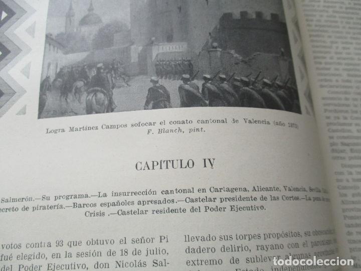 Libros antiguos: LAS GRANDES CONMOCIONES POLITICAS EN ESPAÑA, FRANCISCO PI Y MARGALL y PI Y ARSUAGA-S/F- 2 TOMOS - Foto 13 - 176913213