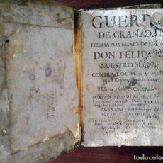 Libros antiguos: GUERRA DE GRANADA HECHA POR EL REY FELIPE II CONTRA LOS MORICOS. DIEGO DE MENDOZA 1766.. Lote 176931110