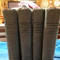 Livros antigos: HISTORIA DE ESPAÑA Y DE LA CIVILIZACION ESPAÑOLA AÑO 1913. Lote 176989819