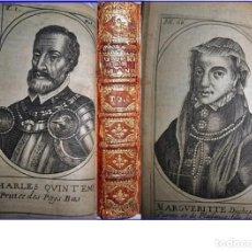 Libros antiguos: AÑO 1664: HISTORIA DE LA GUERRA DE FLANDES. CON ILUSTRACIONES DE CARLOS V, FELIPE II.. Lote 103105127