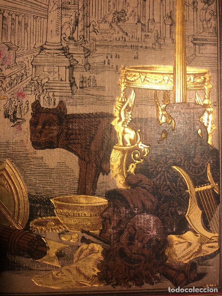 Libros antiguos: HISTORIA DE LOS ROMANOS. DURUY, Victor. Barcelona: Montaner y Simón, 1888. Folio. 2 tomos. - Foto 3 - 177595915