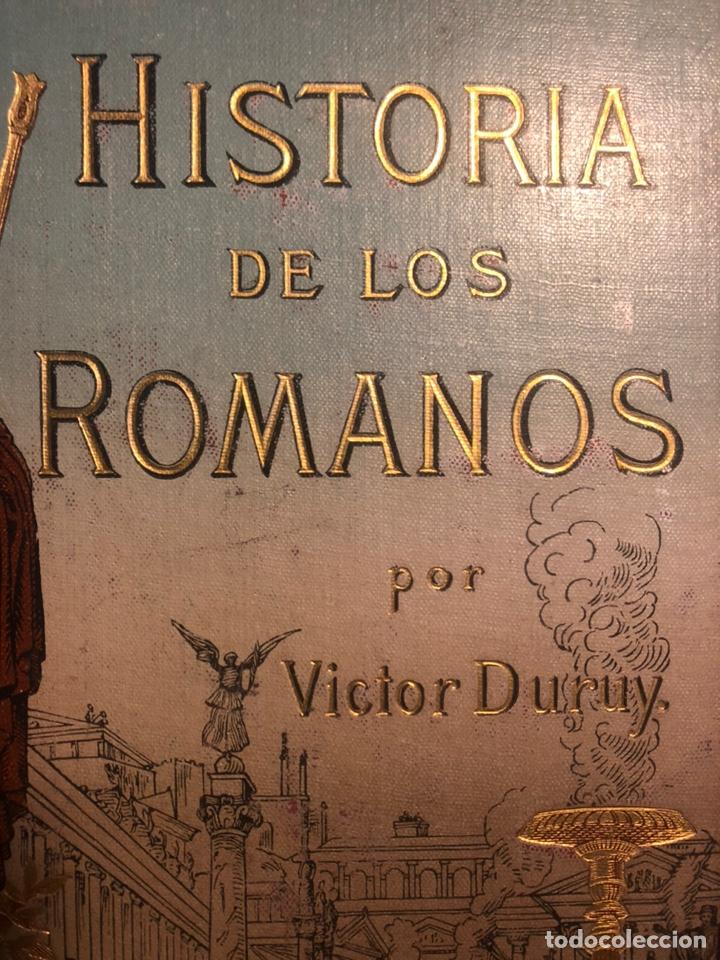 Libros antiguos: HISTORIA DE LOS ROMANOS. DURUY, Victor. Barcelona: Montaner y Simón, 1888. Folio. 2 tomos. - Foto 5 - 177595915