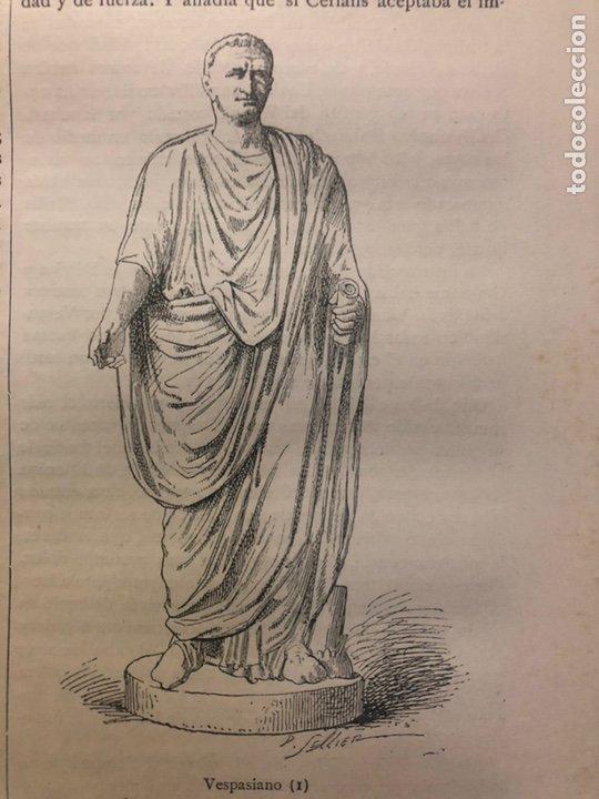 Libros antiguos: HISTORIA DE LOS ROMANOS. DURUY, Victor. Barcelona: Montaner y Simón, 1888. Folio. 2 tomos. - Foto 8 - 177595915
