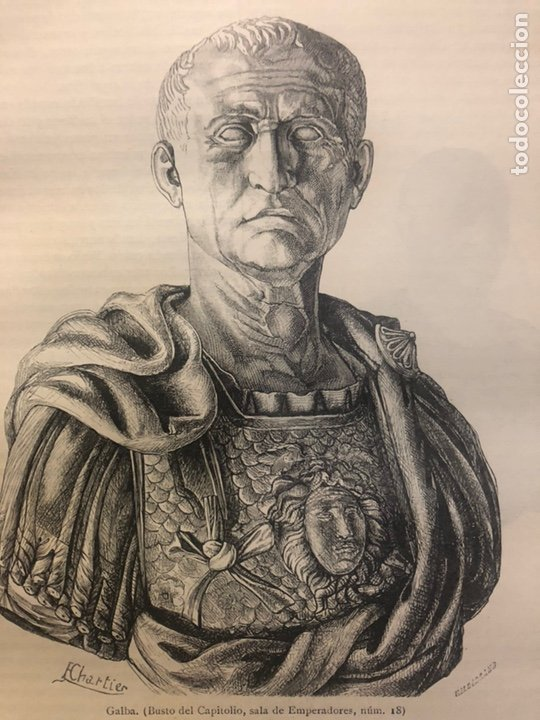 Libros antiguos: HISTORIA DE LOS ROMANOS. DURUY, Victor. Barcelona: Montaner y Simón, 1888. Folio. 2 tomos. - Foto 9 - 177595915