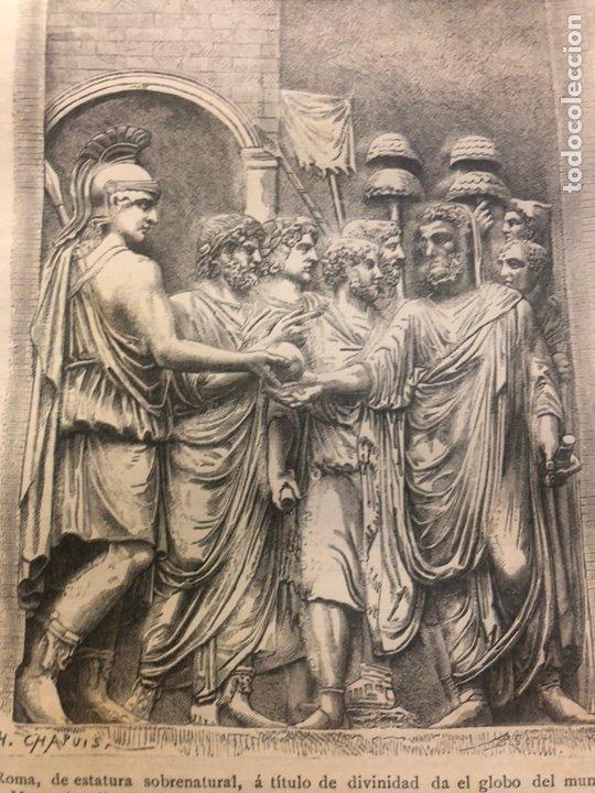 Libros antiguos: HISTORIA DE LOS ROMANOS. DURUY, Victor. Barcelona: Montaner y Simón, 1888. Folio. 2 tomos. - Foto 11 - 177595915